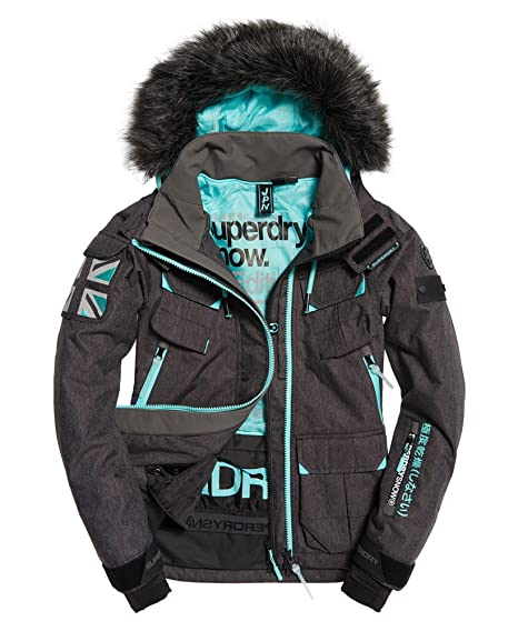 Giacca Service it Sci Donna Amazon Da Snow Superdry Ultimate qRFBZx