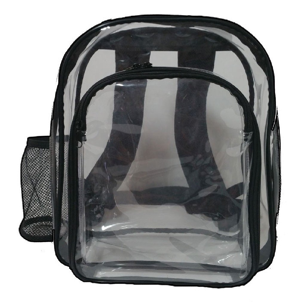 Safety Bags 004 Clear Mini Backpack (Pack of 24)