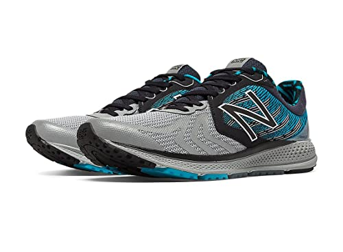 f7048864114 New Balance Men's Vazee Pace V2 Running Shoe, Size: 12 Width: D Color: Black/Metallic  Silver/Blue: Amazon.co.uk: Shoes & Bags