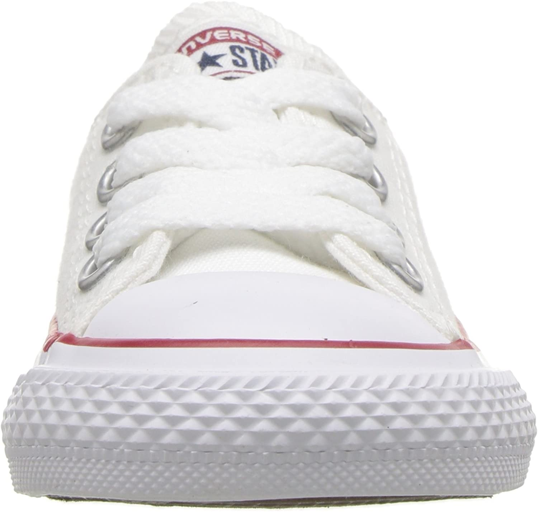 Converse Chuck Taylor, Baskets Mixte Enfant Blanc Blanc Optical 102