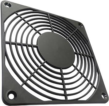 AERZETIX: 2X Rejilla Negra de protección 120x120mm ventilación ...