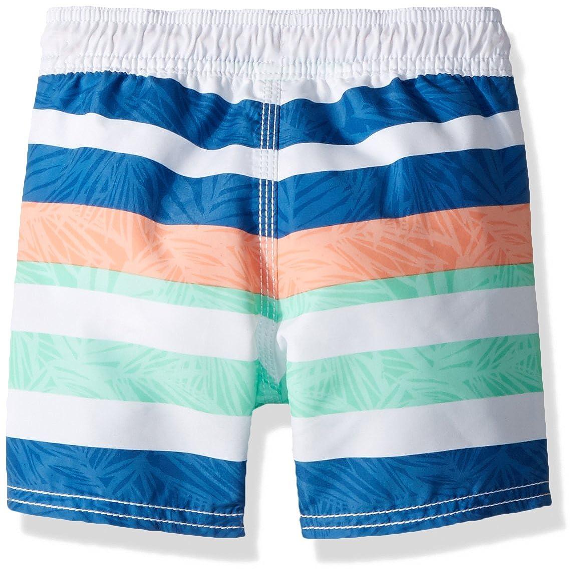 OshKosh BGosh Boys Kids Swim Trunks Multiple Varieties Black//Yellow Shark 7 Osh Kosh 43512010