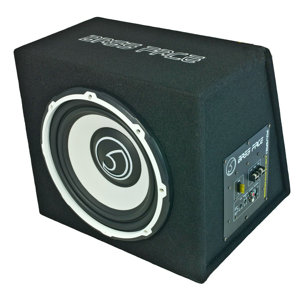 Bass Face power12, 1 1300 W Active Subwoofer amplificador incorporado de coche: Amazon.es: Electrónica