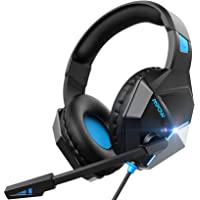 Mpow EG10 Gaming Headset for PS4, PC, Xbox One, Ultra Light Over Ear Headphones with…
