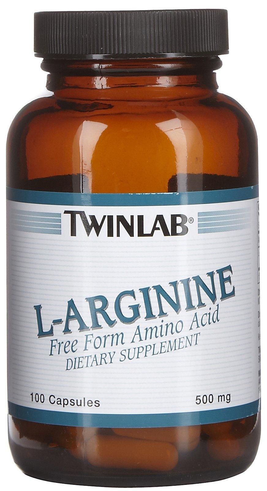 Twinlab L Arginine 500Mg 100 Cap