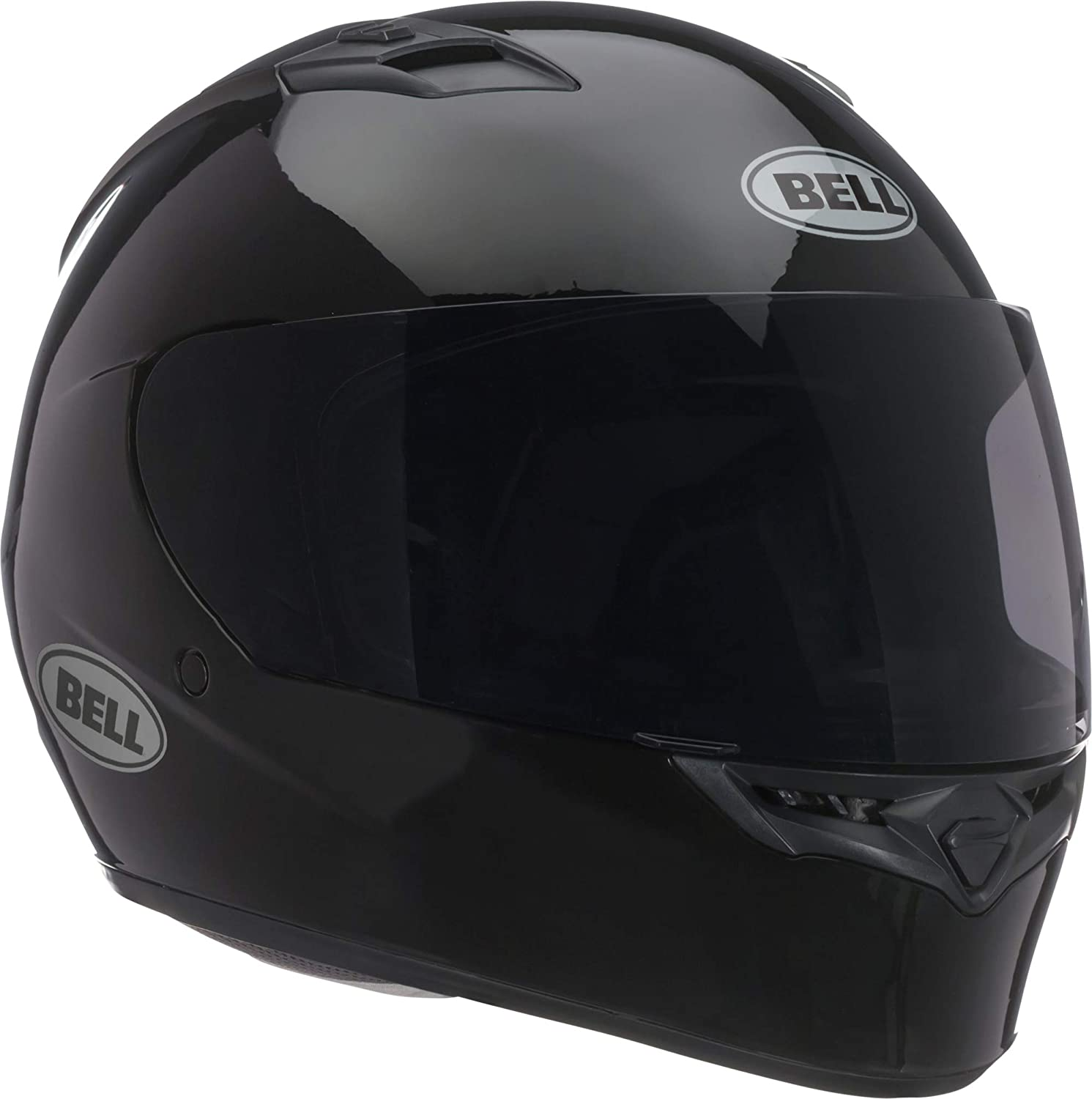 Bell Qualifier Full-Face Motorcycle Helmet (Solid Black, Large)