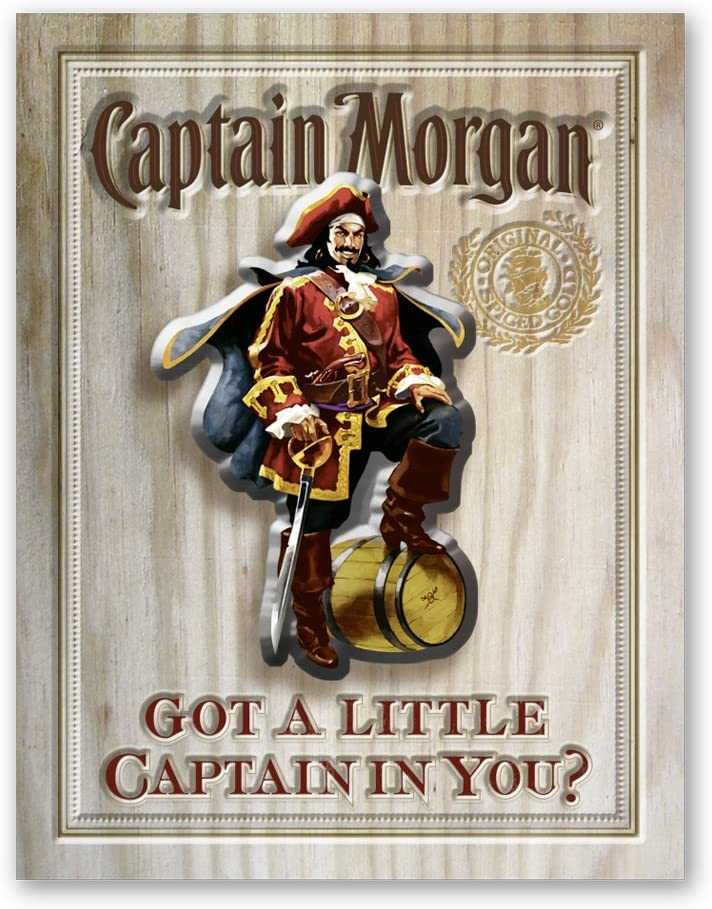 "Capt Morgan ""Got a Little Captain in You?"" 3D"