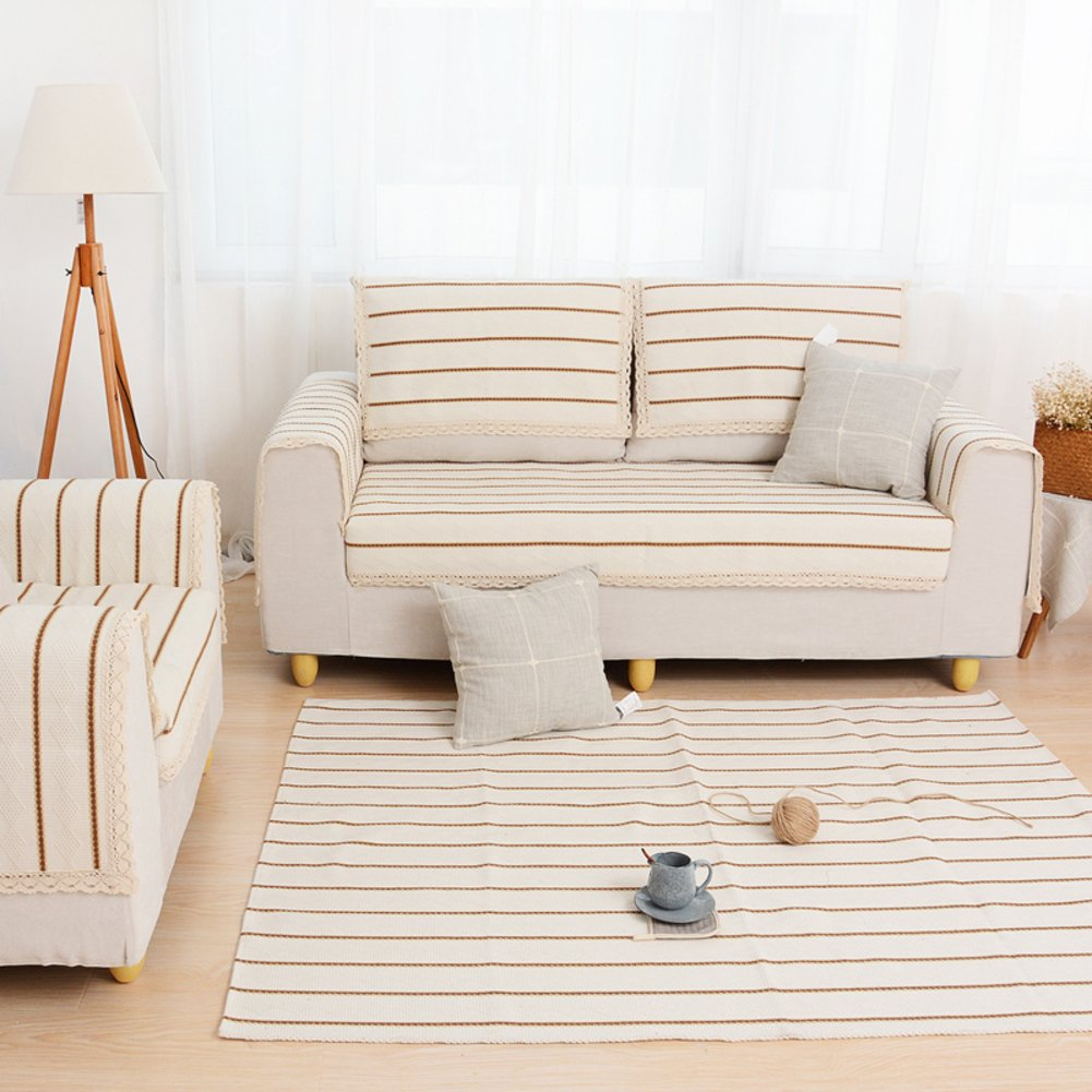 Woven anti-slip sofa mat/fashion cushion/sofa/bay window mat-B 90x210cm(35x83inch)