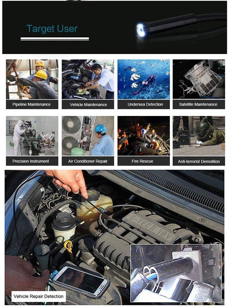 1 m USB Endoskop 1.300.000 Pixel kompatibel mit Android IP67 Wasserdichtes Endoskop Kamera GOTOTOP 5,5 mm Endoskop Kamera