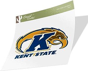 Kent State University KSU Golden Flashes NCAA Design Sticker Vinyl Decal Laptop Water Bottle Car Scrapbook (Sticker - 2)