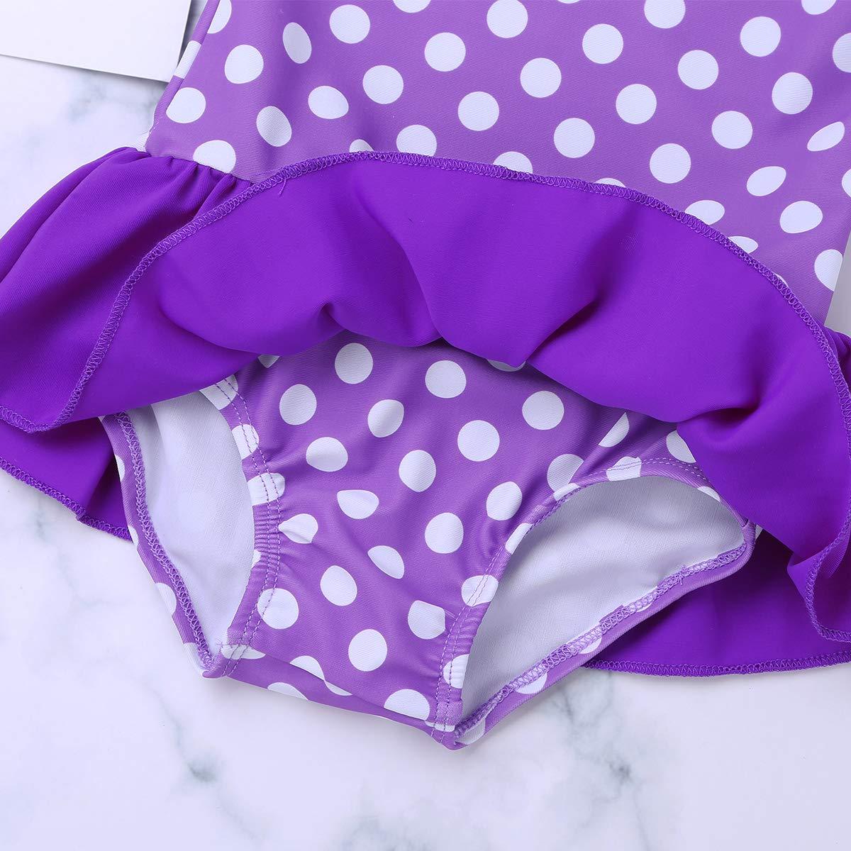 M/ädchen Badeanzug Einteiler Bikini UV-Schutz Bademoden All-Over gepunktet 62 68 74 80 86 92 98 iEFiEL Baby