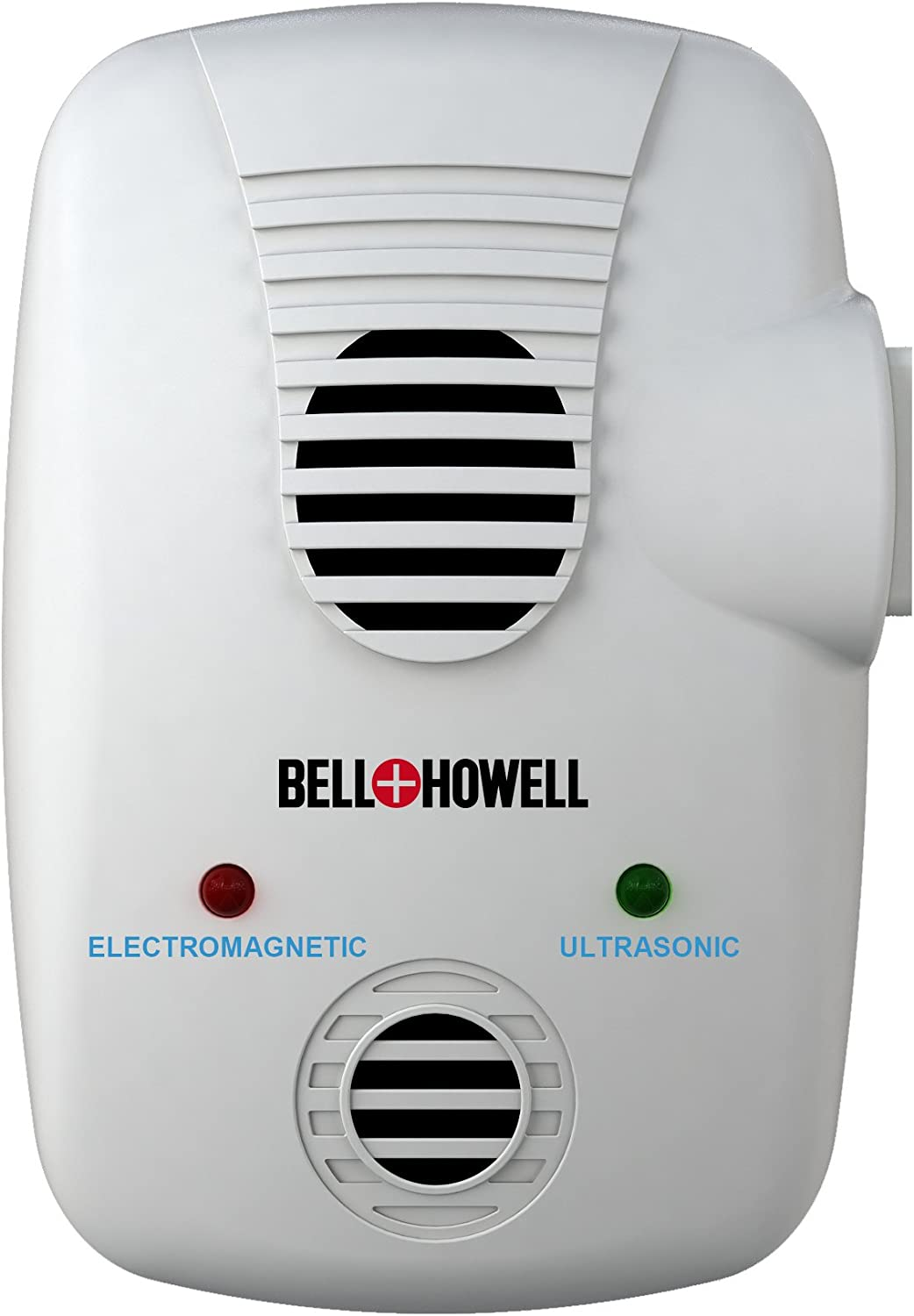 Bell + Howell Electromagnetic and Ultrasonic Pest Repeller with AC Outlet, Model:50153