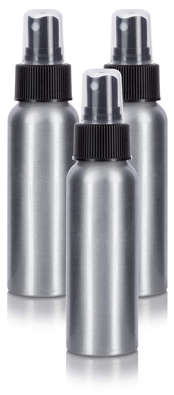 ca3536144246 Aluminum Refillable Travel Spray Bottle Mister - 2.7 oz (3 Pack ...