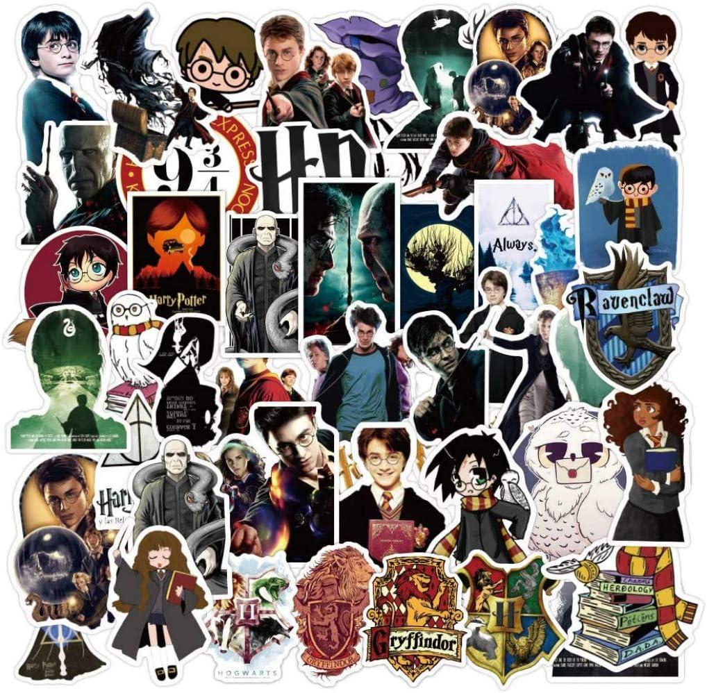 100 Stück Aufkleber Für Harry Potter Stickers Cartoon Skateboard Gitarrenaufkleber Laptop Gepäck Wasserflasche Pvc Wasserdichte Aufkleber Auto