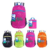 EGOGO Wasserdicht Faltbare Stopfbare Wandern Reisen Rucksack School Tasche Rucksack für Mädchen Jungen College Studenten S2016