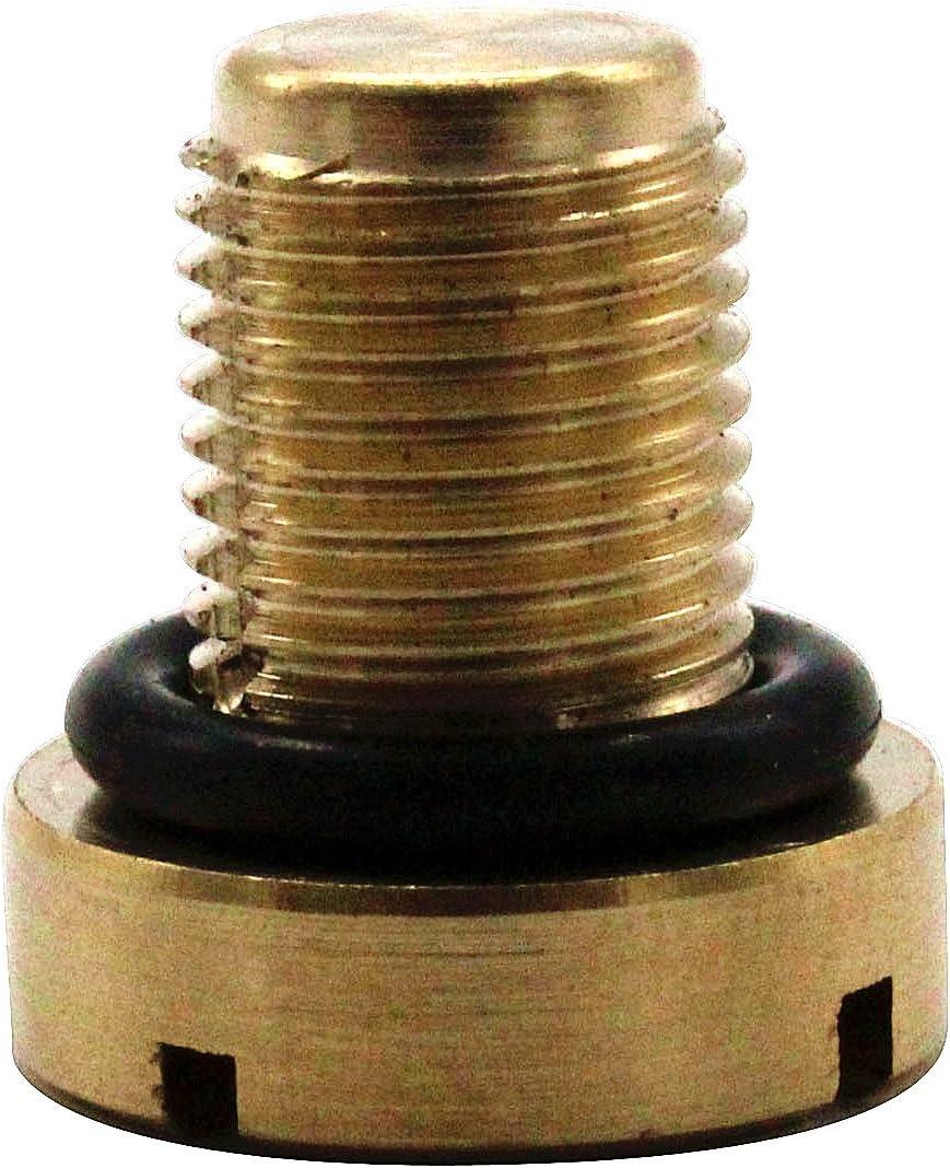 TAKPART 2x K/ühlerschlauch Entl/üftungsschraube K/ühlmittel Ausgleichsbeh/älter K/ühlablassschraube mit O-ring f/ür E30 E36 E31 E34 E46 E39 E38 Mini Cooper 17111712788