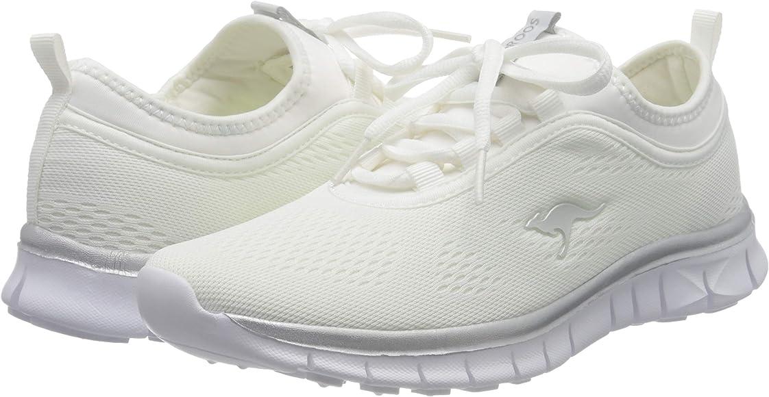 KangaROOS K-Run Neo S, Zapatillas para Mujer, Blanco (White/Silver 0002), 36 EU: Amazon.es: Zapatos y complementos