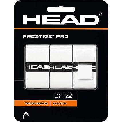 HEAD PRESTIGE PRO Agarre - (Juego de 3) - Blanco