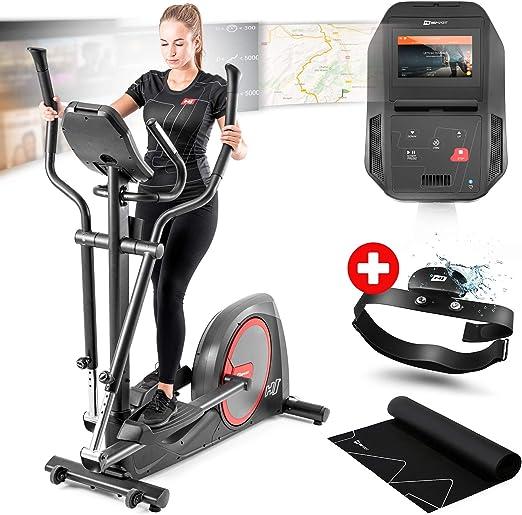 Bicicleta elíptica Hop-Sport HS-300C Sentinel con 30 kg de masa ...