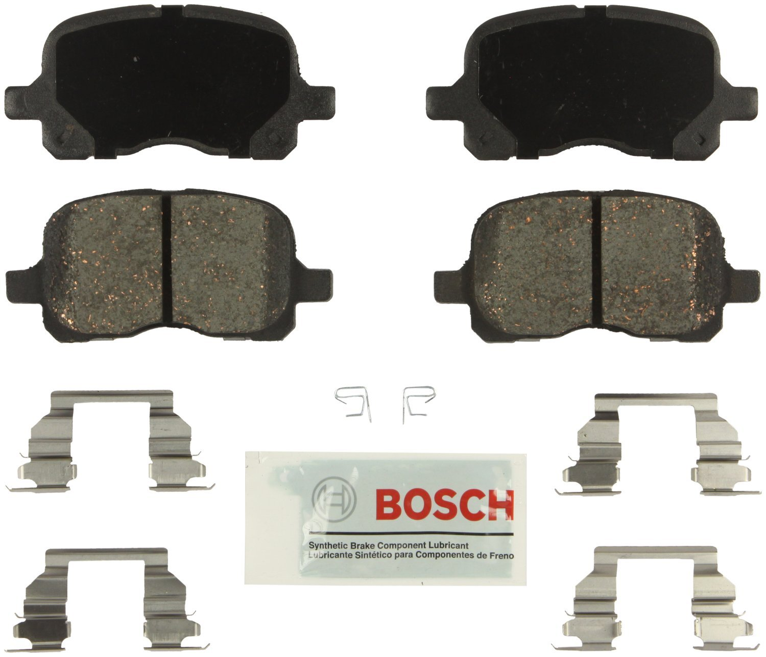 Bosch BE741H Blue Disc Brake Pad Set with Hardware