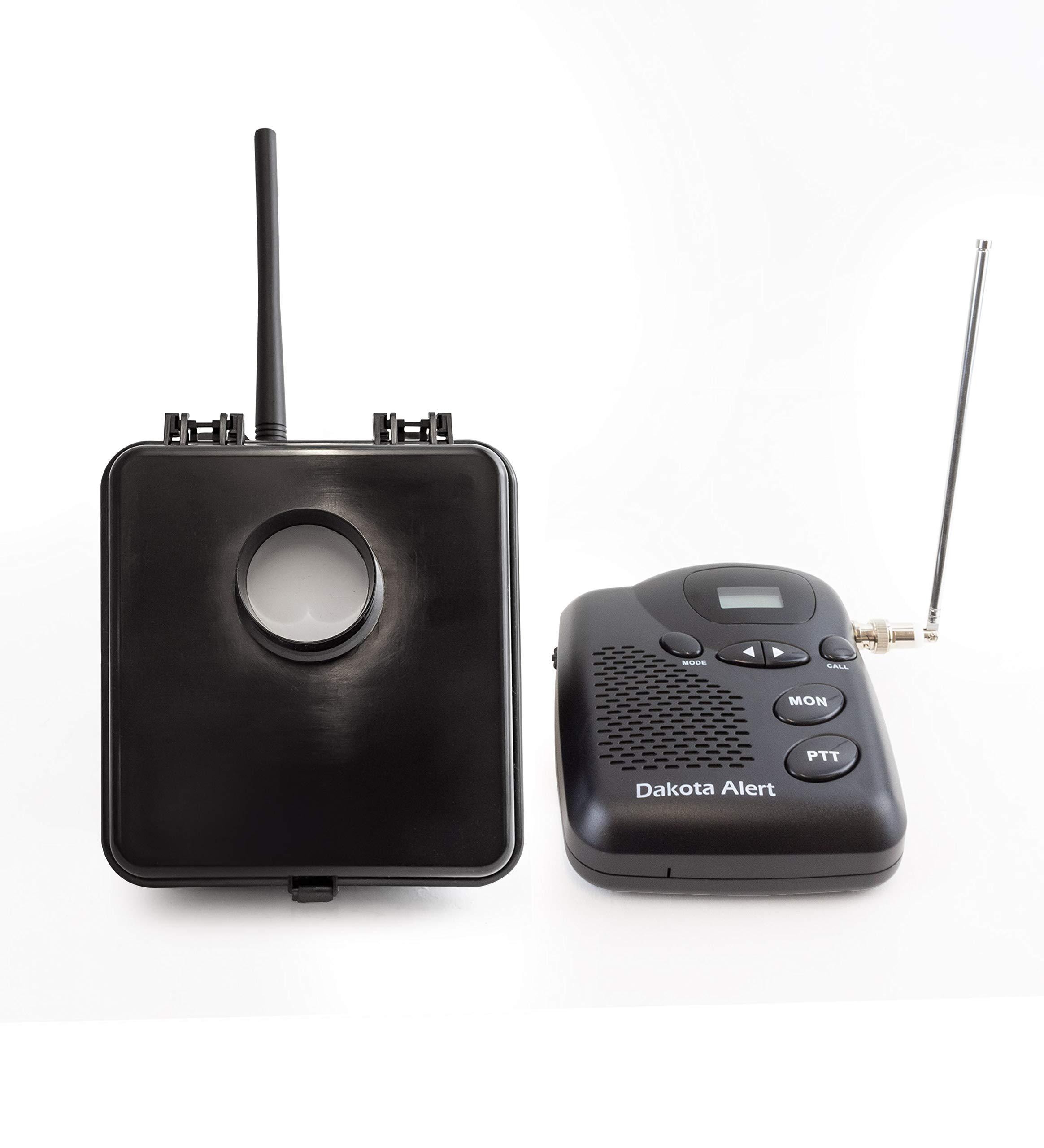 Dakota Alert MURS-BS-KIT Motion Sensor Kit - MURS Alert Transmitter Box and M538-BS Wireless MURS Base Station - License-Free Multi Use Radio Service by Dakota Alert