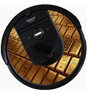 Bling for Roomba i7 Vacuum (Gold Bars)