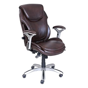 Wellness By Design Adjustable Air Manager Chair Brown Model 47431