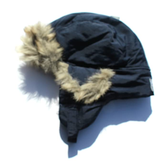 d1969f8f771df0 Image Unavailable. Image not available for. Color: Boys Navy Blue Trapper  Hat ...