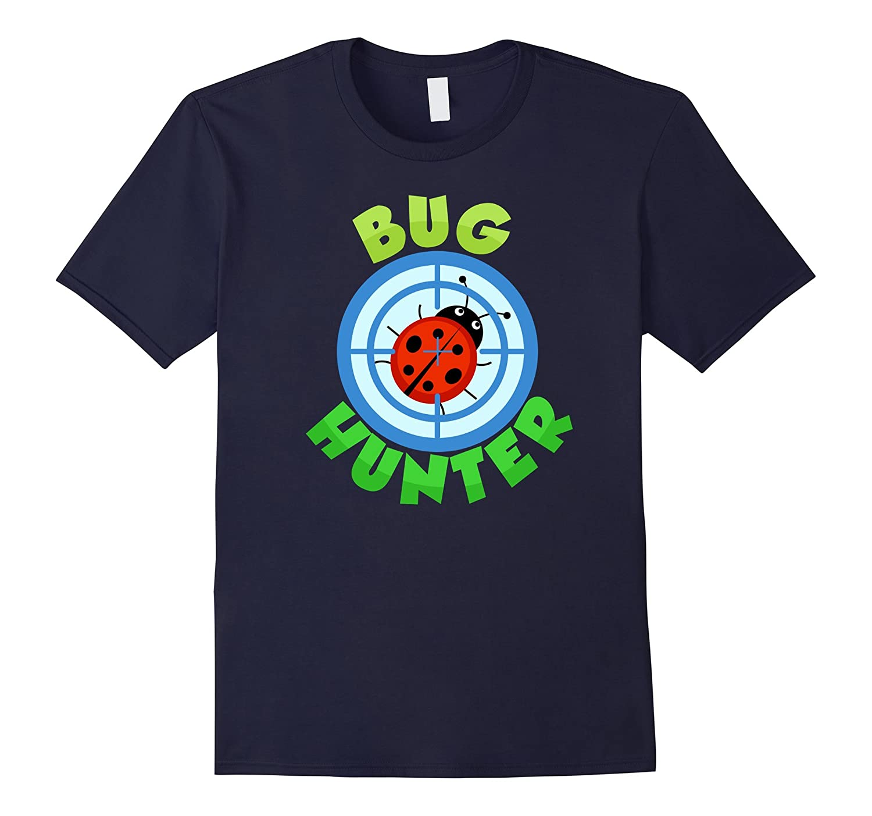 Cute Bug Hunter T-shirt, Ladybug, Bug Hunting by Zany Brainy-Art