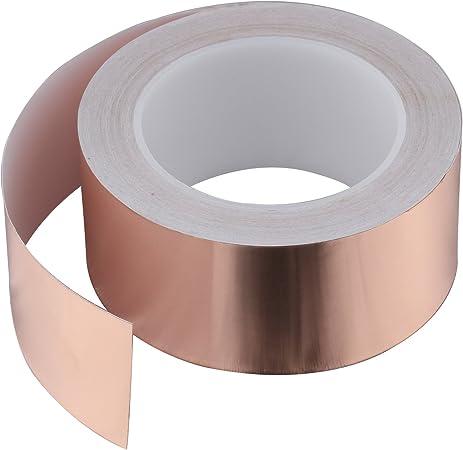 0,1 x 70 mm,5 m Rolle Kupferblech,Kupferband,Kupferfolie
