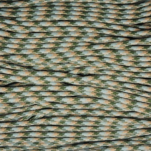 Paracord Planet Nylon Type III 7-Strand 550 Paracord Camo Colors - Available in 10' 20' 25' 50' 100' 250' & 1000'