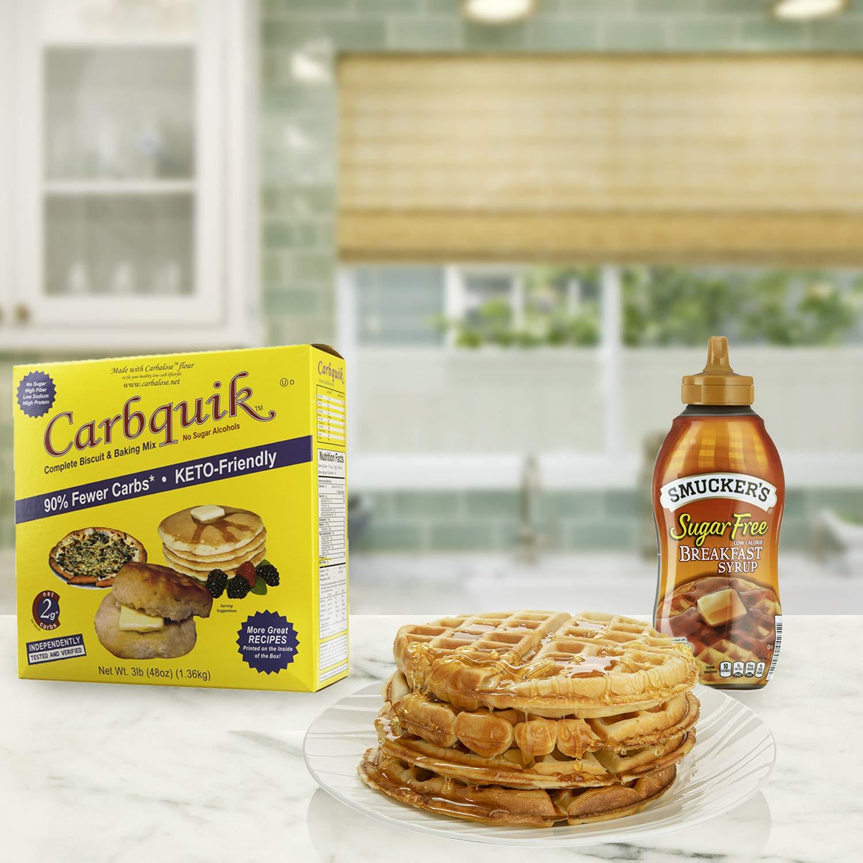 Carbquik Baking Biscuit Mix Caja de 121 ml + saco de azúcar ...