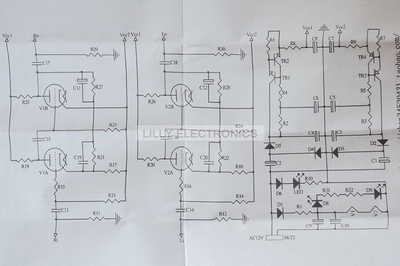 6sn7 Guitar Amp Schematic Trusted Wiring Diagrams Vintage Silvertone Console Diagram 6j1 Tube Buffer Portal U2022 Amplifier Schematics
