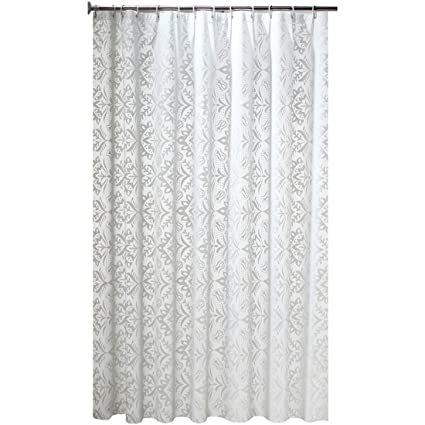 XADREZ Mildew Waterproof PEVA Clear Frosted Shower Curtain Liner Curtains With Hook For Home Bathroom