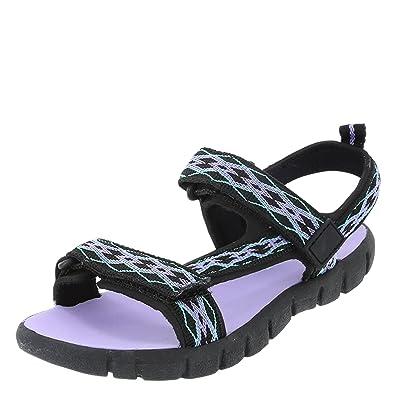Airwalk Black Purple Girls  Taite Sport Sandal 2 Regular 14647b6c94