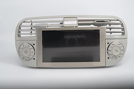 Car dvd gps Android system navigation player for Fiat 500 2007-2016
