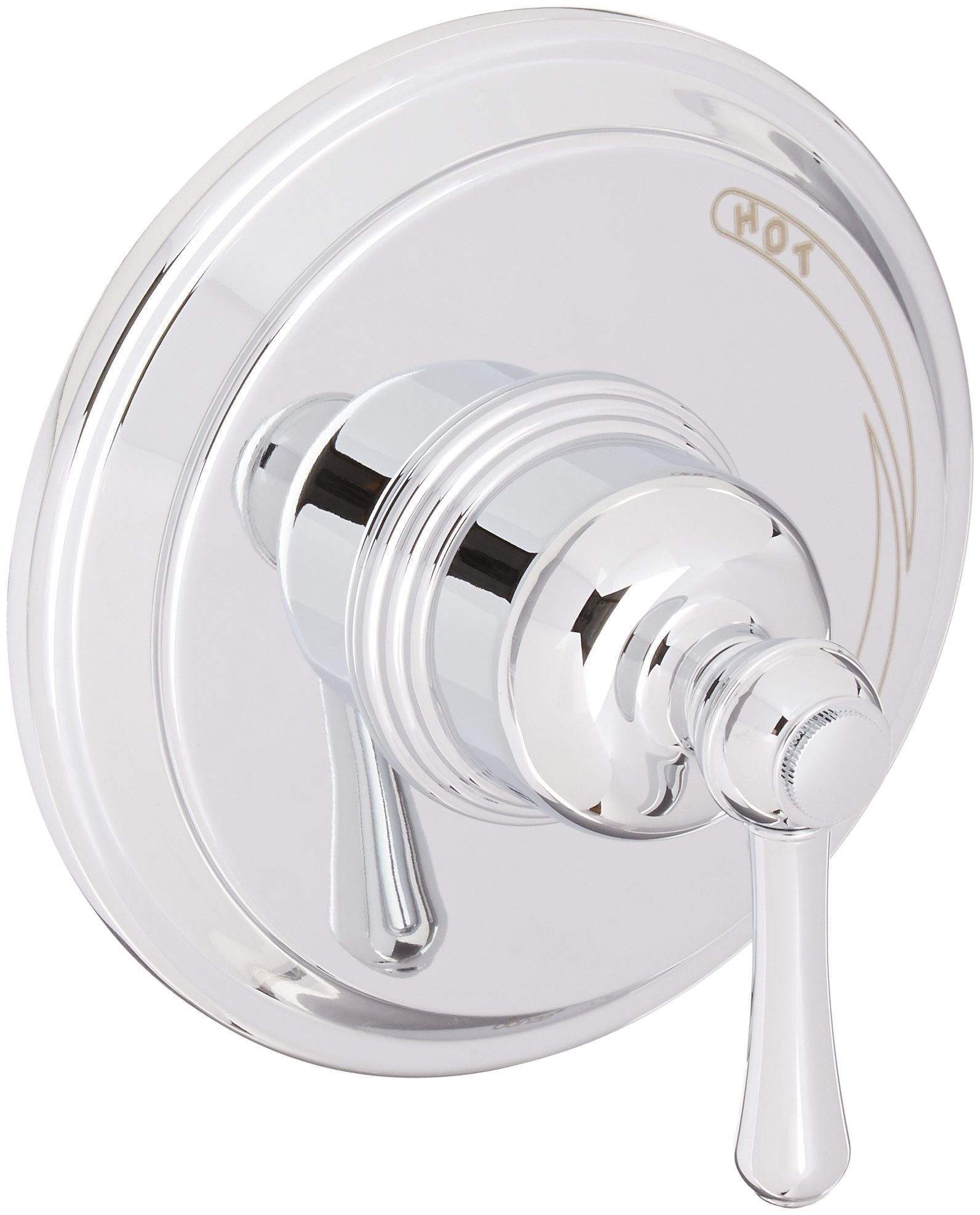 Danze D510457T Opulence Single Handle Pressure Balance Valve Trim Kit, Valve Not Included, Chrome