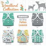 Thirsties Package, Snap Duo Wrap, Woodland Collection Fallen Leaves, Size 2