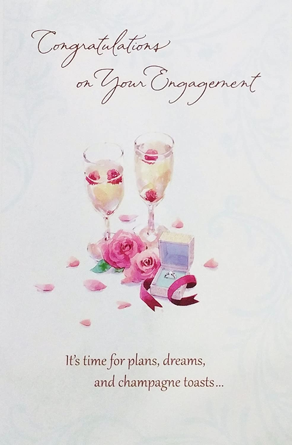 Amazon Congratulations On Your Engagement Greeting Card