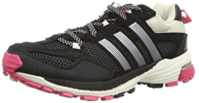 official photos 8a690 dd7c1 adidas Performance Supernova Riot 5 D66641 Damen Laufschuhe, Schwarz (Black  1Metallic Silver