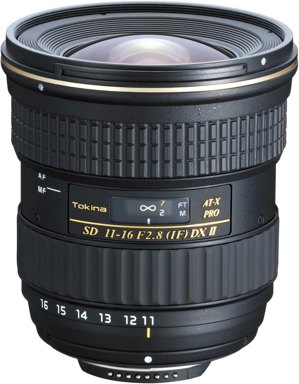 77 mm Filtergewinde f/ür Nikon Objektivbajonett Tokina AT-X 11-16mm f//2,8 Pro DX II Ultraweitwinkelzoom-Objektiv