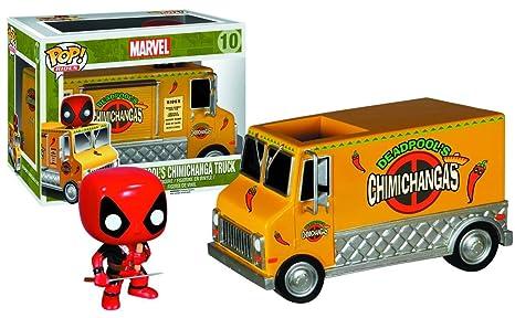 Funko Figura de acción del Carro de Pop Paseos Deadpool Martha