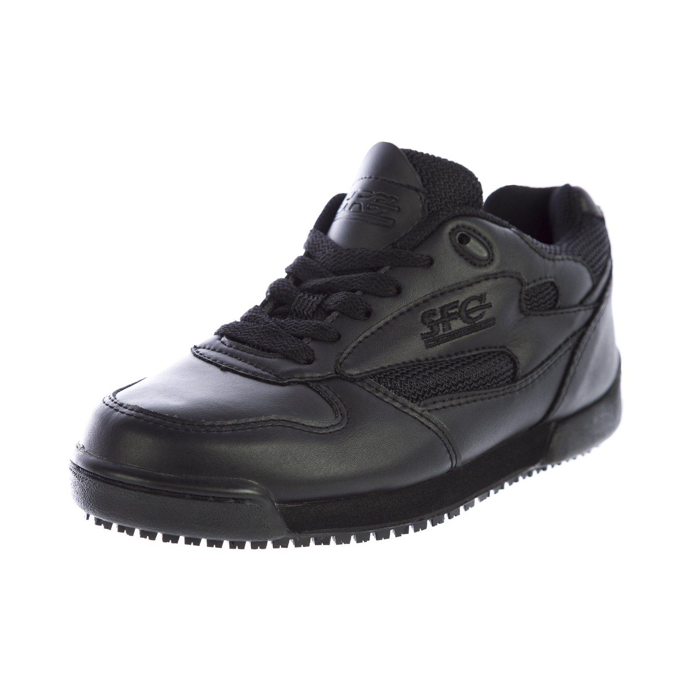 靴のCrewsレディースProClassic IIIレザーシューズ7001 ブラック B018801DZ4