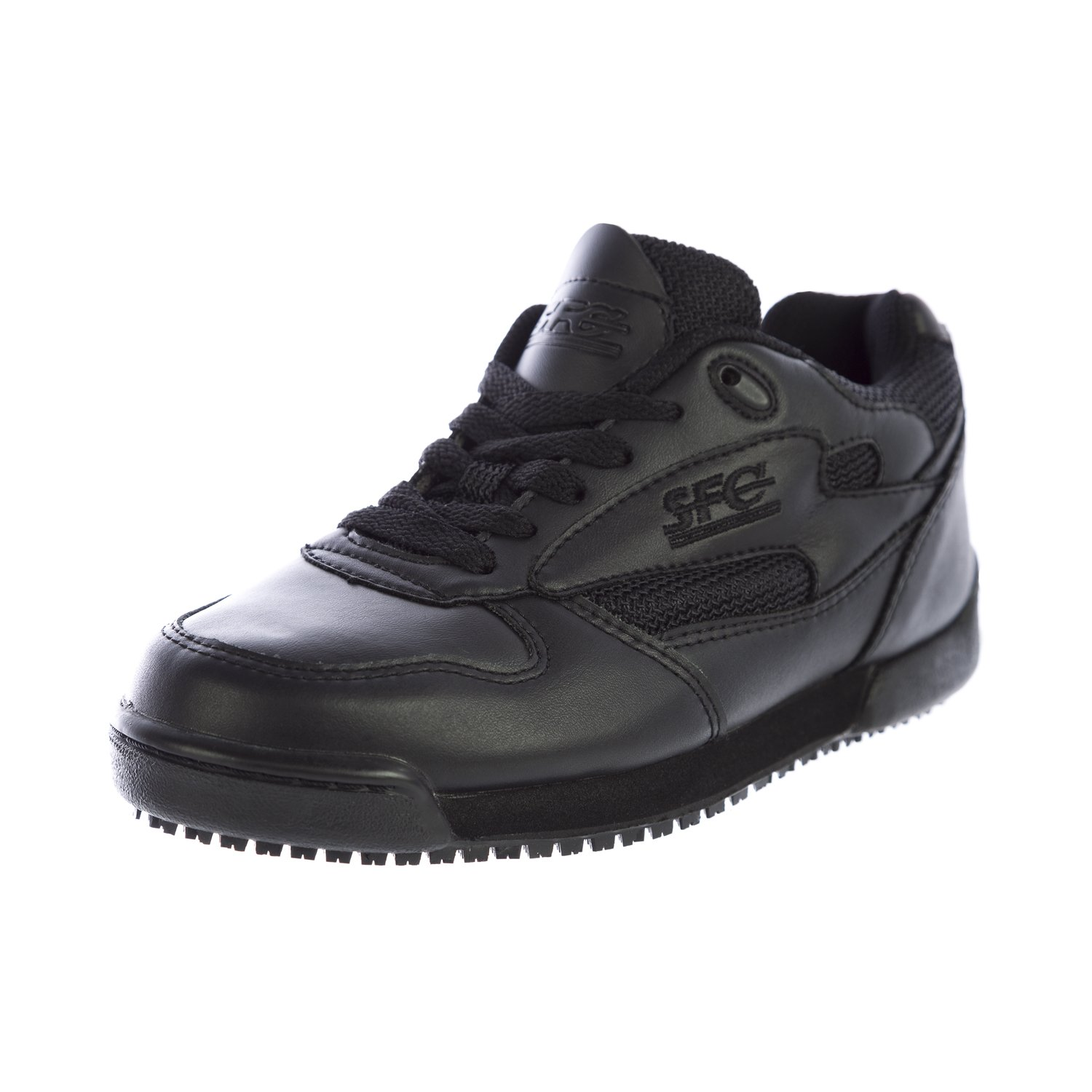 Shoes For Crews Women's Proclassic III Leather Shoes 7001 Size 4 Black