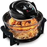 Tower Airwave Low Fat Health Fryer Removable Glass Bowl For Easy Cleaning And Observation.
