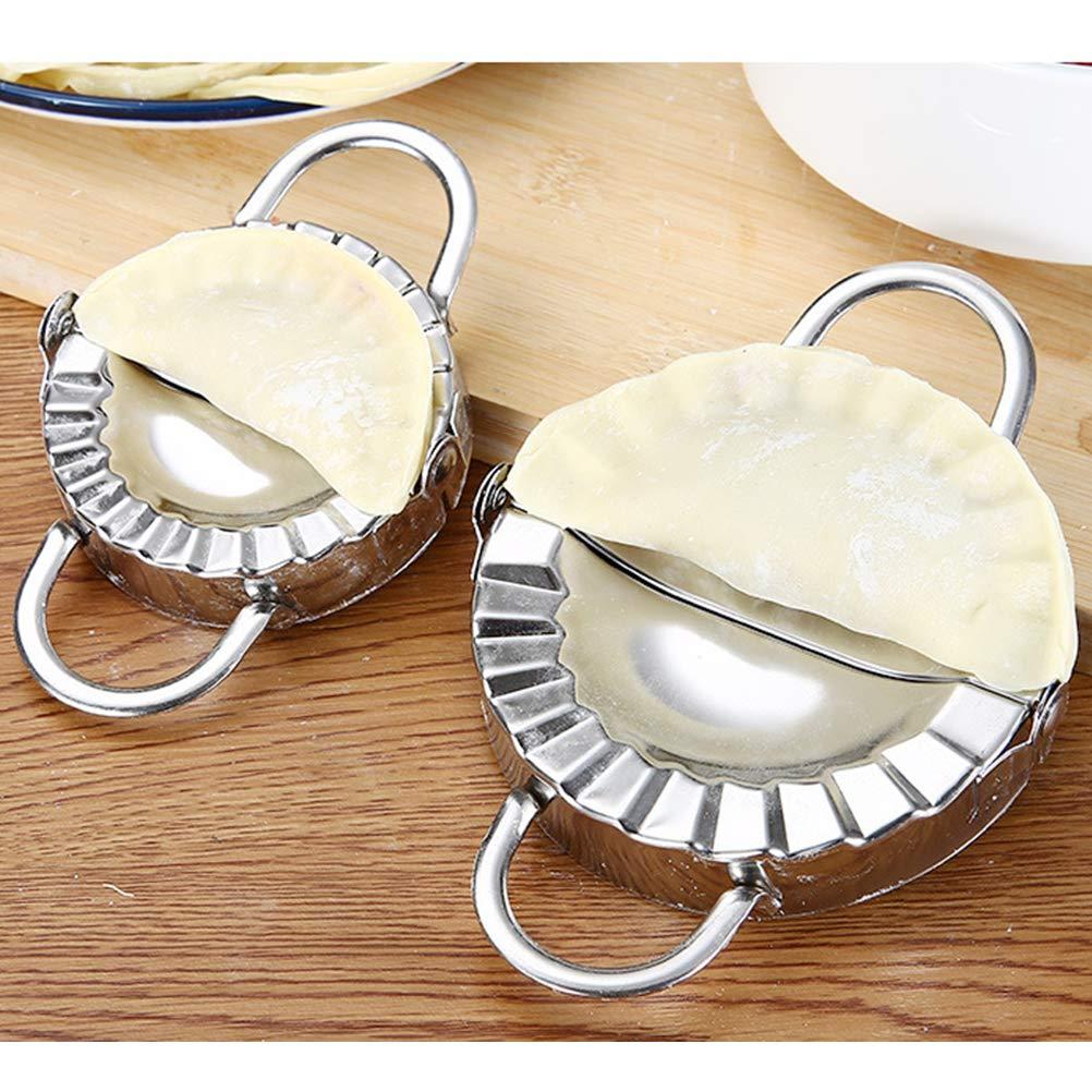 herramienta manual para pastel FuYouTa Molde de de masa hervida Molde para hacer pasta Molde para empanadillas en aleaci/ón de aluminio Molde de bola de masa de acero inoxidable para cocina
