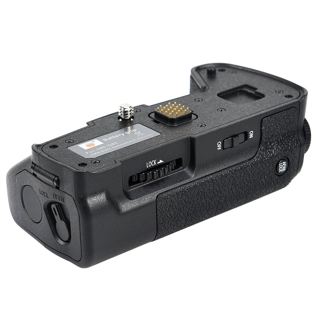 DSTE Pro DMW-BGG1 DMWBGG1 Vertical Battery Grip for Panasonic Lumix DMC-G80 DMC-G85 G80 G85 Digital Camera as DMW-BLC12 Dst Electron Technological Co. Ltd DB100
