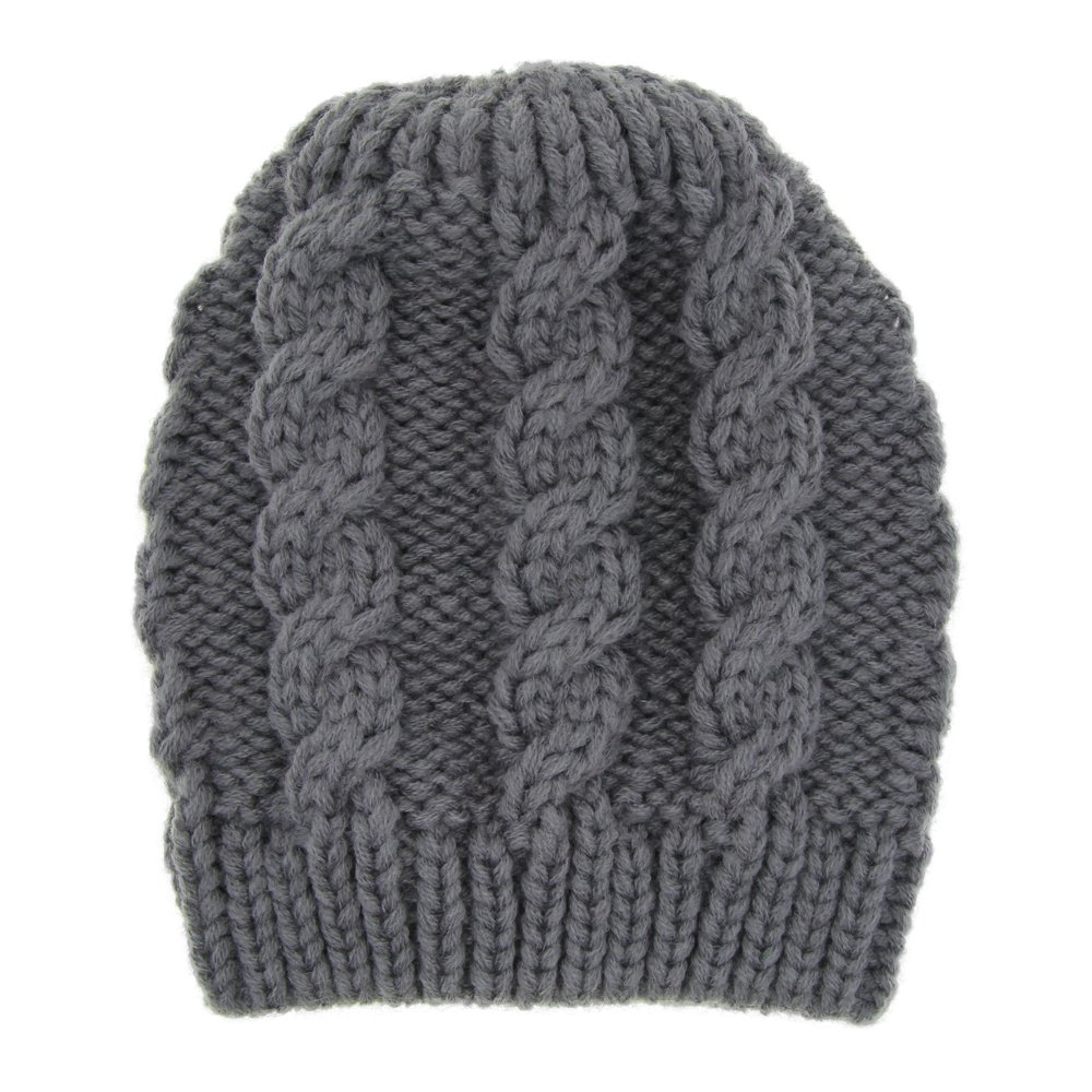 Large Beanie Hats For Children Aged 2-7 Years Baby Winter Cap Quest Sweet Baby Knit Hat