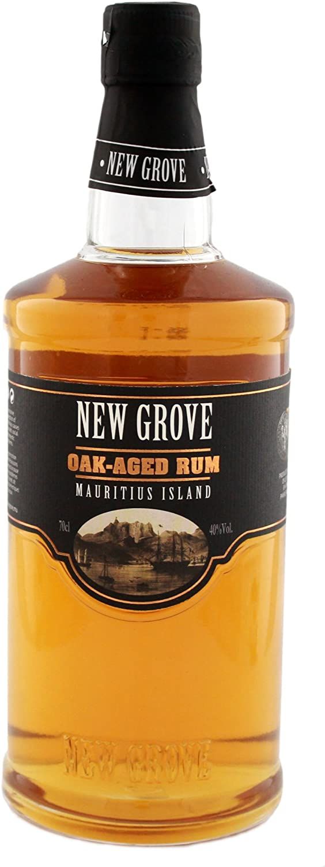 New Grove Old Oak Aged Mauritius Island Rum - 700 ml