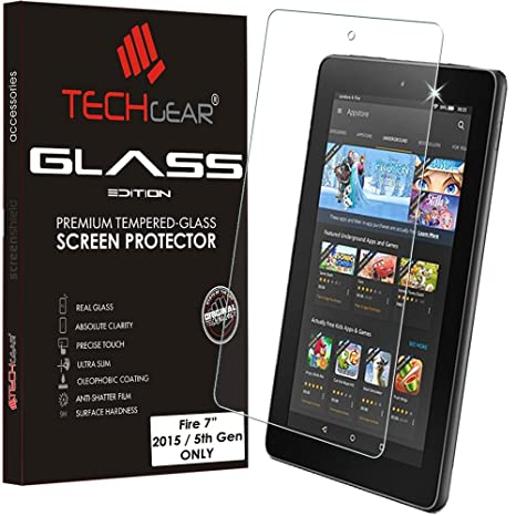 TECHGEAR GLASS Edition fits OLD Amazon Fire 7